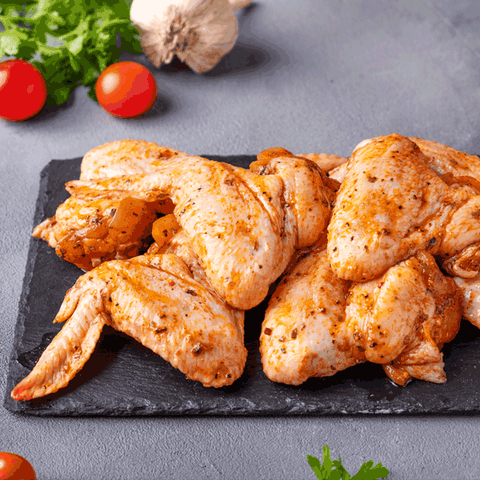 Marinated Chicken Wings (Regular) 500gms