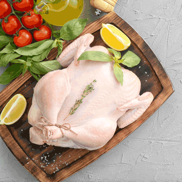 Whole Chicken (Min 800 gms)