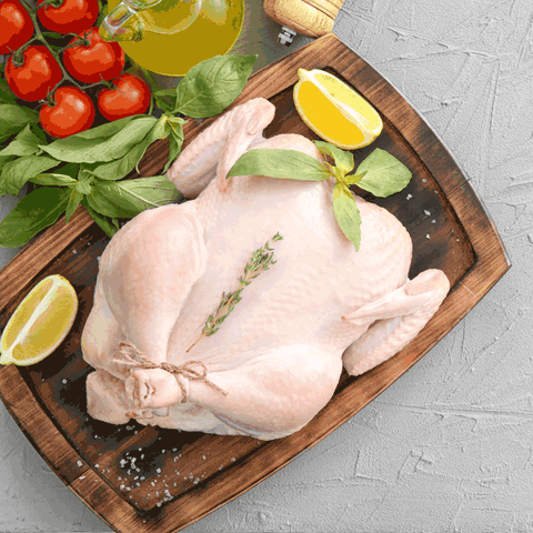 Whole Chicken Min 800gms