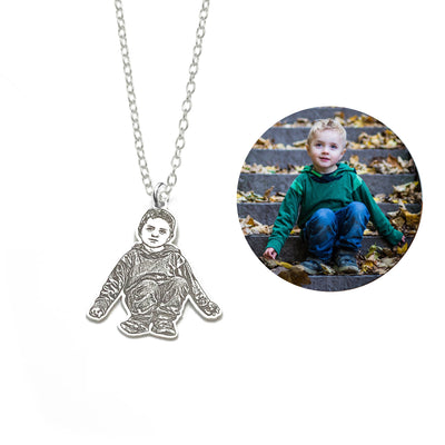 Engravt™ Photo Customized Necklace People