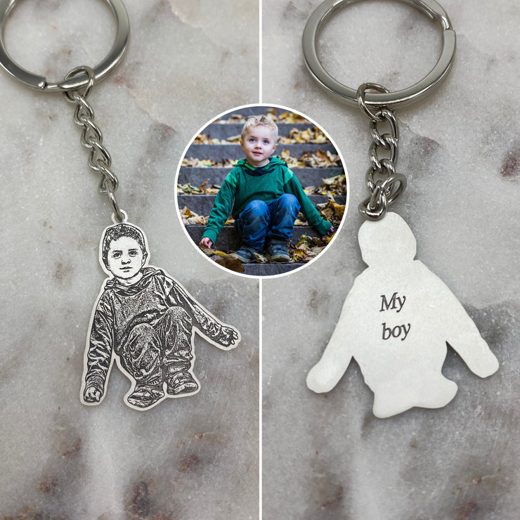 Get A Custom Keychain Out Of Your Photo - Quick & Simple | Engravt