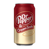 Dr Pepper and Cream Soda 330ml