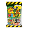 Toxic Waste Sour & Chewy Worms 142g