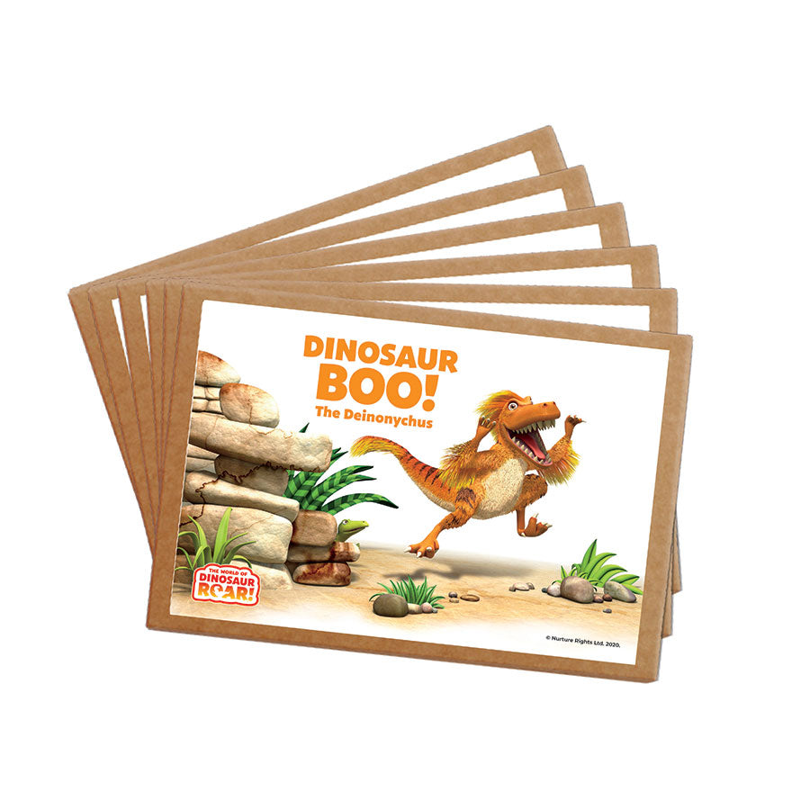 Dinosaur Boo The Deinonychus Postcard Pack