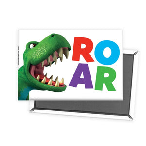 Dinosaur Roar Letters Rectangle Magnet