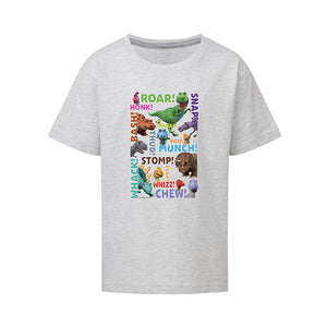 Dinosaur Roar Names Kids T-Shirt