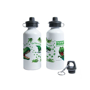 Dinosaur Roar Facts Water Bottle