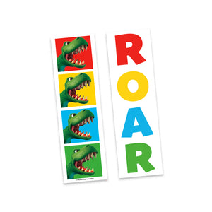 Dinosaur Roar SQUARES Bookmark