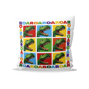 Dinosaur Roar Squares Cushion