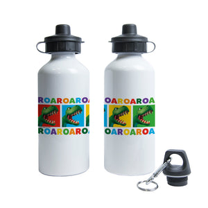 Dinosaur Roar Squares Water Bottle