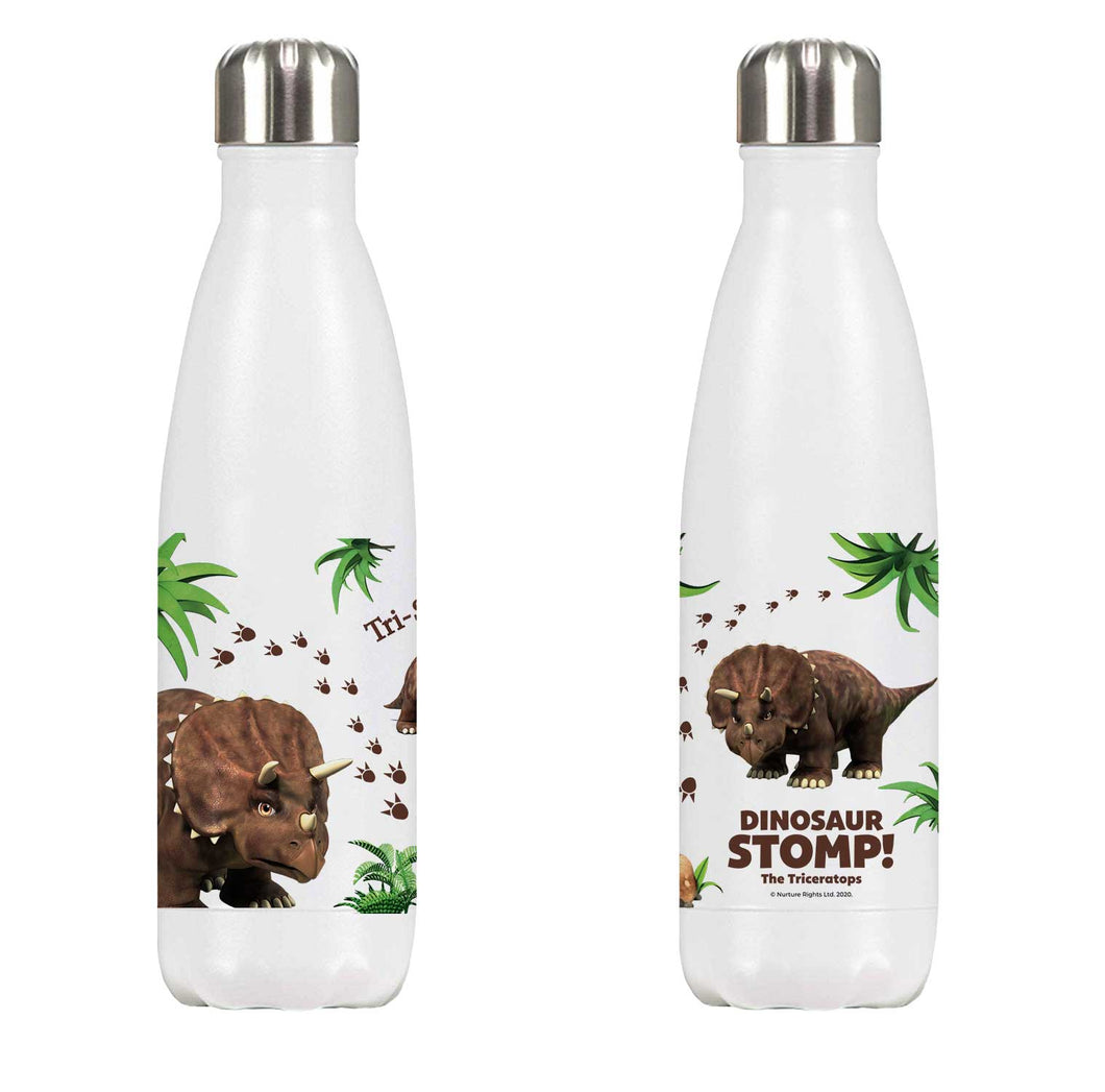 Dinosaur Stomp The Triceratops Premium Water Bottle