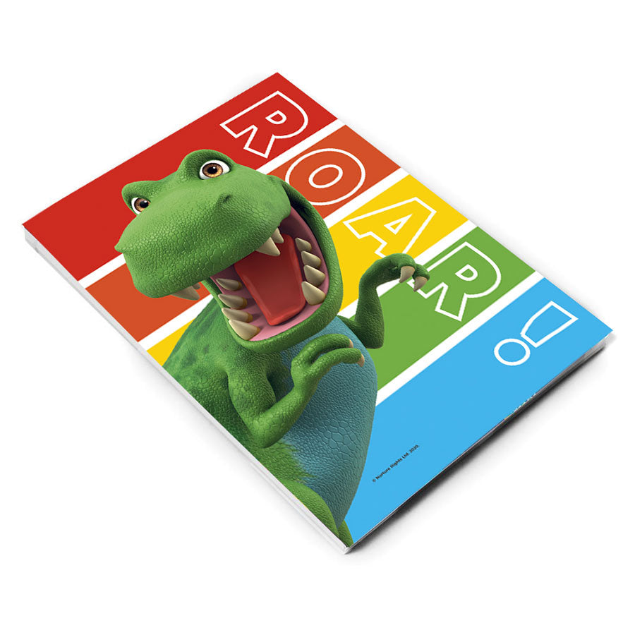 Dinosaur Roar Stripes A5 Notepad