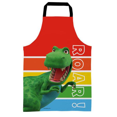 Dinosaur Roar Stripes Kids Apron