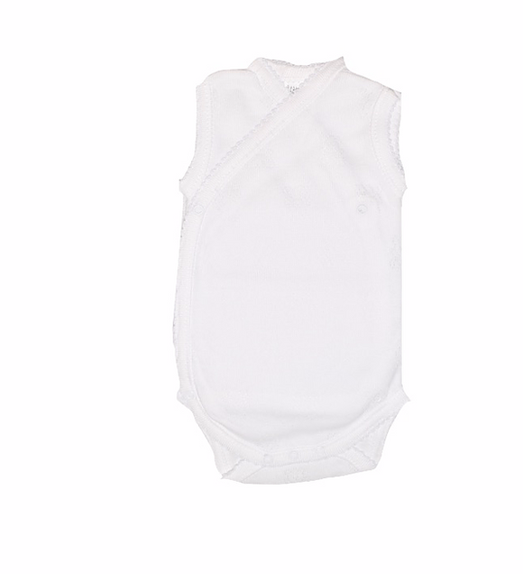 Singlets by Erin -Bodysuit Sleeveless Bear Pattern