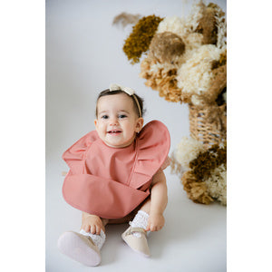 Terracotta Snuggle Bib Waterproof