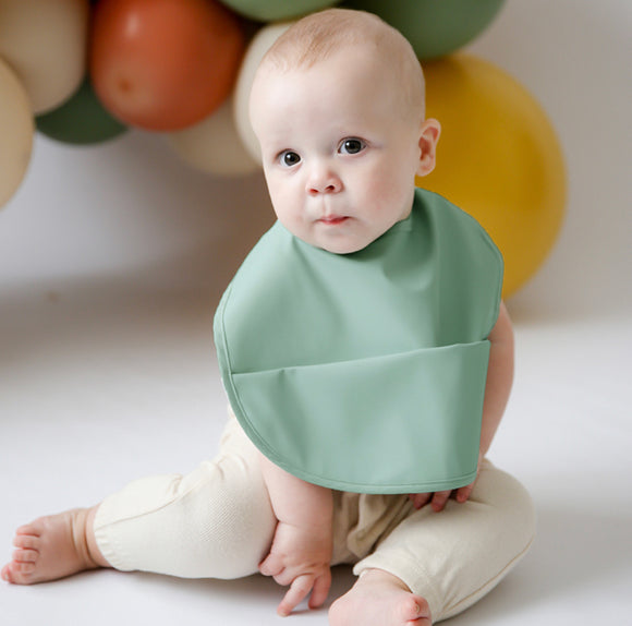 Sage Snuggle Bib Waterproof