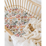 Australiana Bassinet Sheet/ Change Pad Cover
