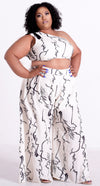 ABSTRACT PRINT 2 PIECE - Shop Lashae Boutique