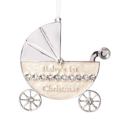 Baby 1st Carriage Ornament, 3