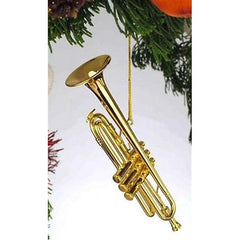 Gold Trumpet Ornament