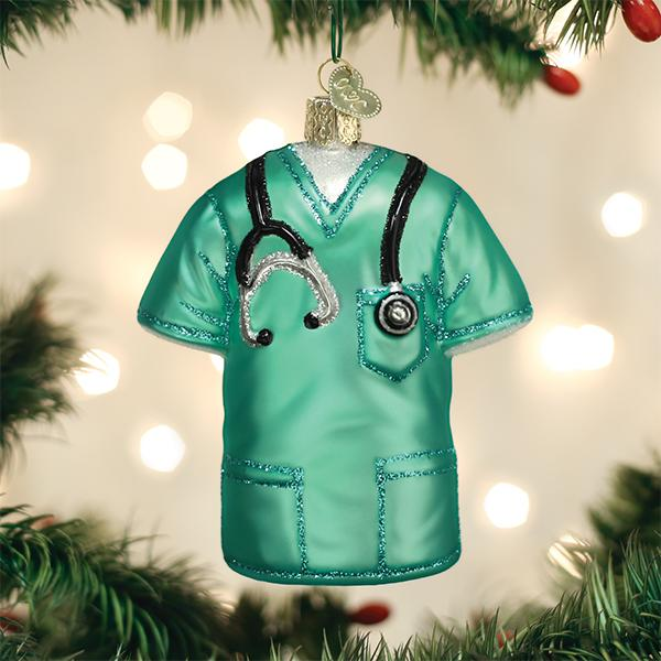 Scrubs Ornament