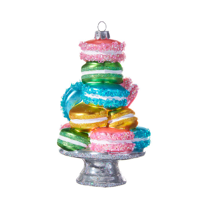 Stacked Macarons Ornamnet, 5.25""