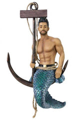 December Diamonds Fresh Catch Merman Ornament
