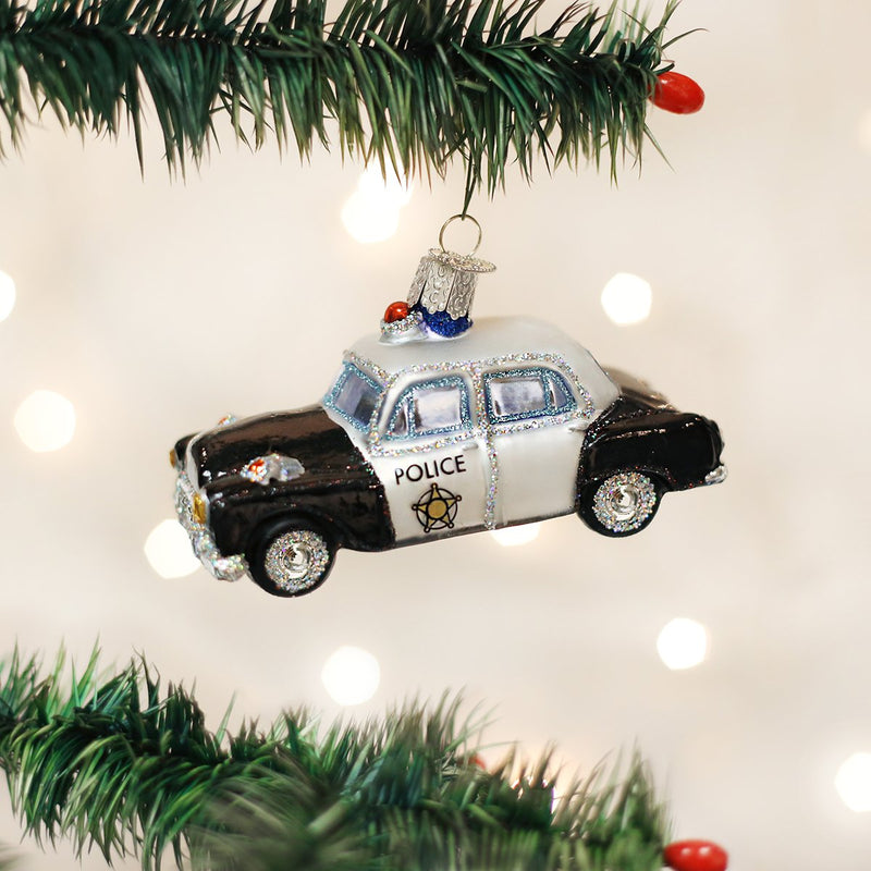 Police Car Ornament