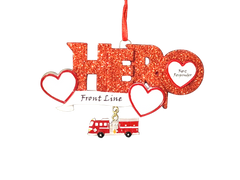 Hero Firefighter Ornament