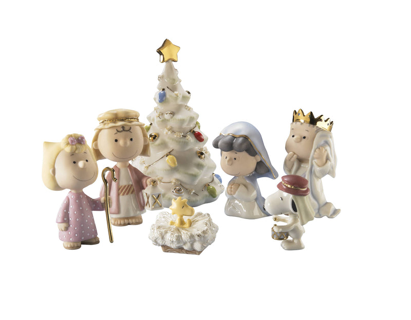 Lenox The Christmas Pageant Nativity Set of 7