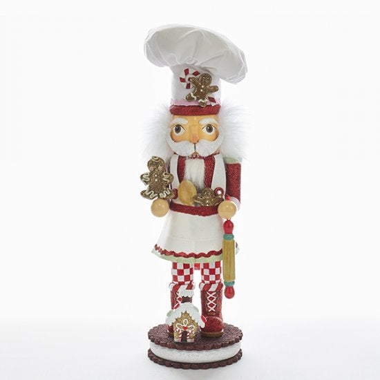 Gingerbread Chef Nutcracker 15""