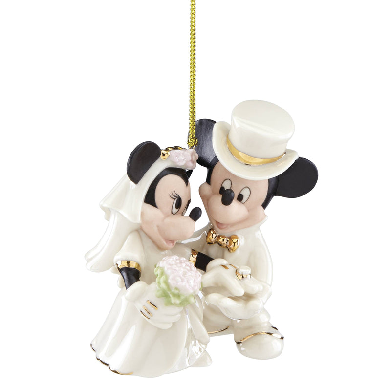 Lenox Minnies Dream Wedding Ornament