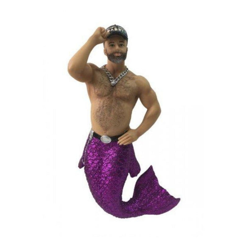 December Diamonds Whos your Daddy Merman Ornament