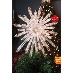 Lighted Star Tree Topper 13.5