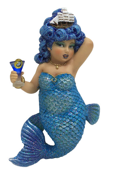 December Diamonds Rough Waters Mermaid Ornament