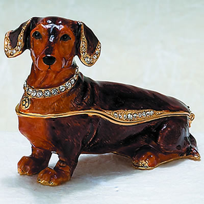 Brown Dachshund Box