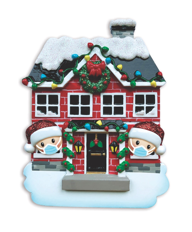 "Covid Family Ornaments, 4.25"" (Choose An option)"