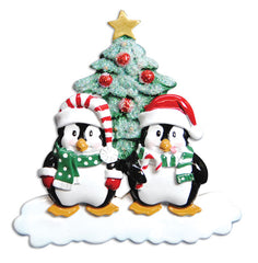 Penguin Couple Ornament