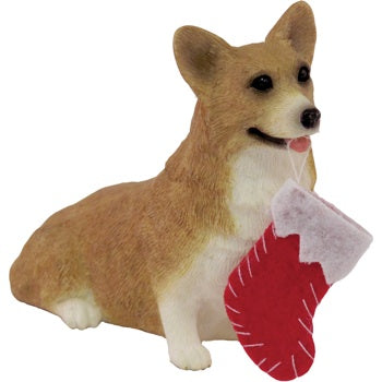 Pembroke Welsh Corgi Dog Ornament