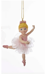 Ballerina Girl With Tutu Ornament, 4
