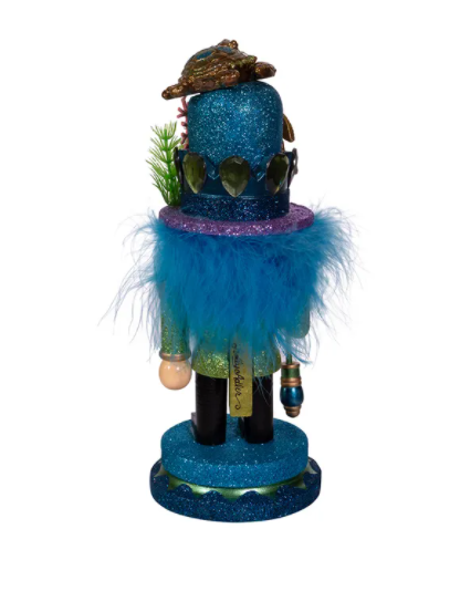 Hollywood Nutcracker With Sea Turtle Hat, 11""