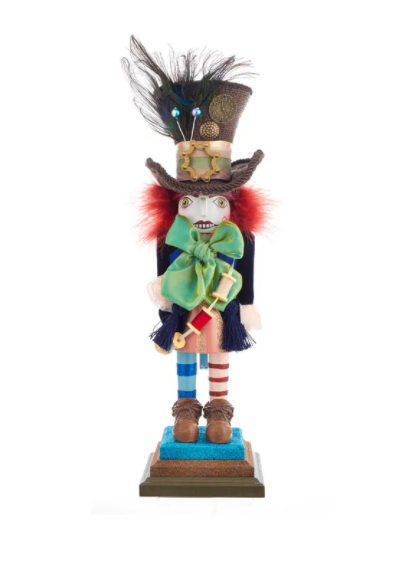 Hollywood Mad Hatter Nutcracker, 18""
