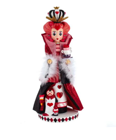 Hollywood Queen Of Heart Nutcracker, 17.5""