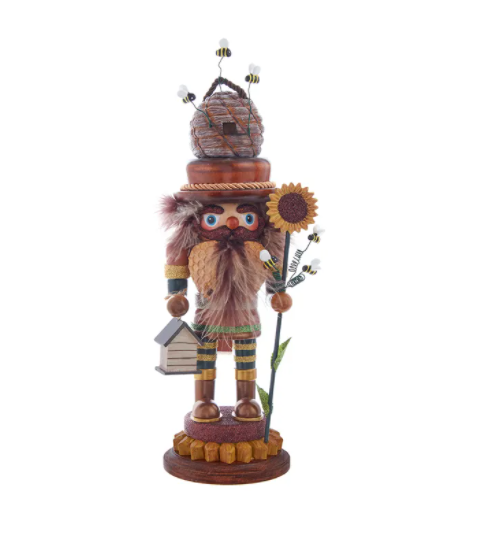Hollywood Bee Keeper Nutcracker, 15""