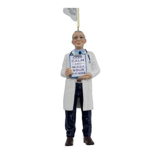Resin Doctor Fauci Ornament, 5""