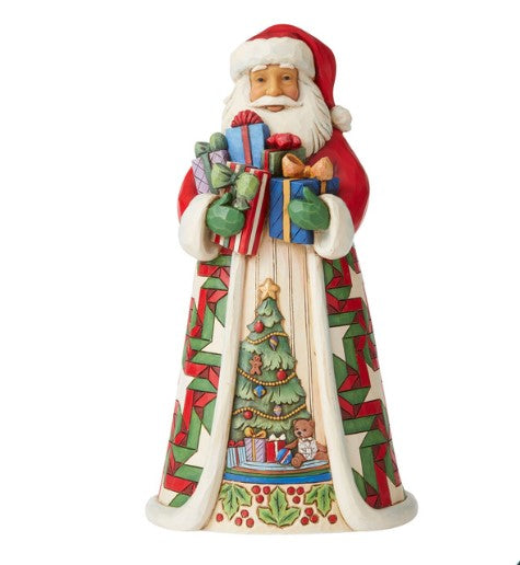 Jim Shore Santa Arms Full Of Gifts Fig, 10""