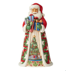 Jim Shore Santa Arms Full Of Gifts Fig, 10