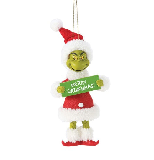 Merry Grinchmas! Ornament, 5""