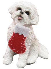 Bichon Frise  Dog Ornament