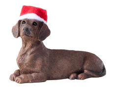Dachshund Red Dog Ornament